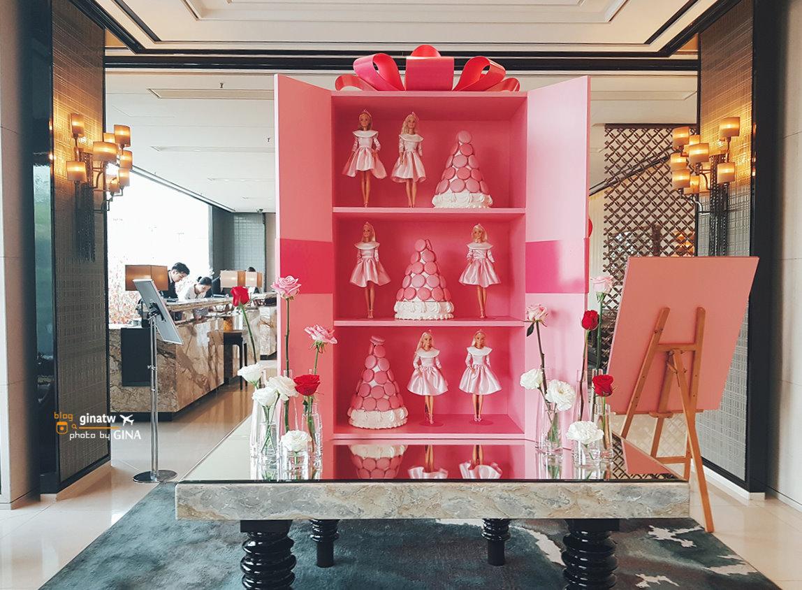 【東大門甜點】JW萬豪飯店下午茶|韓國草莓|芭比娃娃控請注意! @GINA環球旅行生活|不會韓文也可以去韓國 🇹🇼