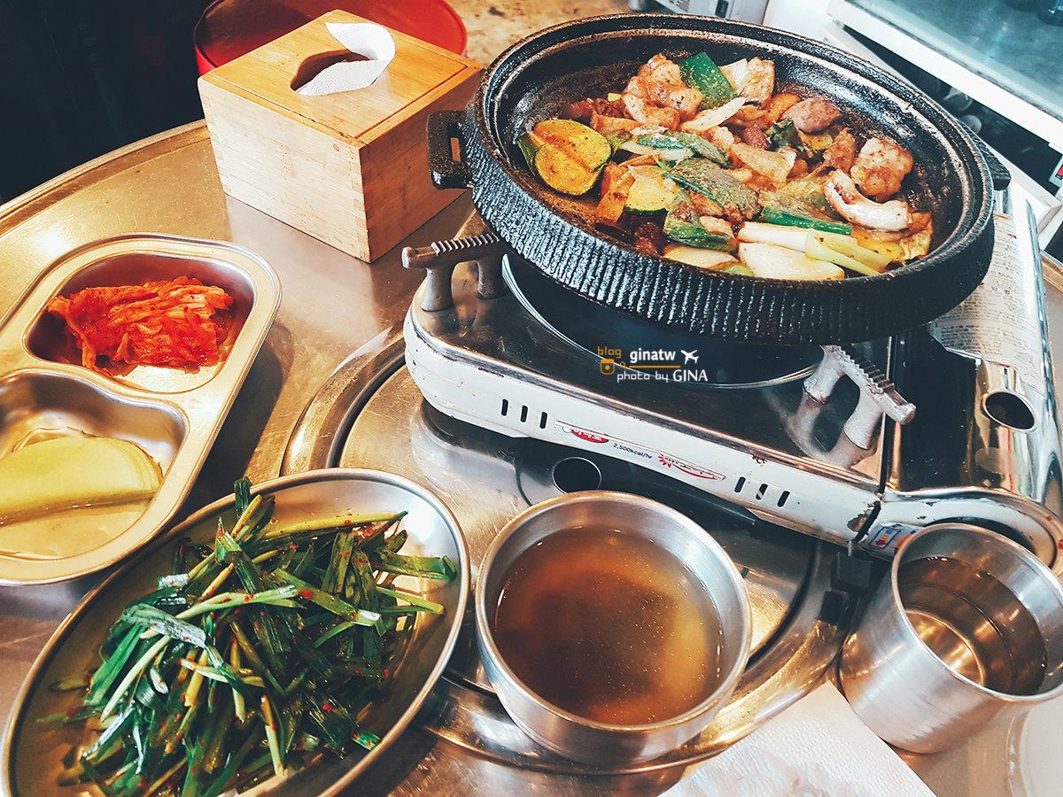 明洞食記 一個人也可以吃烤腸套餐!!! @Gina Lin