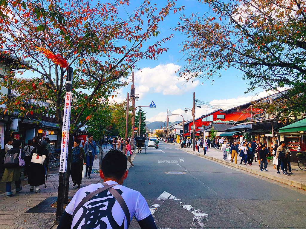 2020 京都嵐山好浪漫|日本人力車初體驗.穿越嵯峨野竹林 @Gina環球旅行生活