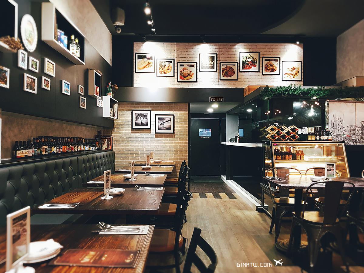 【台北中山區美食】WOW BISTRO|旺慢食餐酒館 中山、蘆洲店|義大利麵、甜點|附菜單、店家地址 @GINA環球旅行生活|不會韓文也可以去韓國