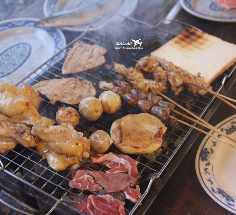 【蘭嶼食記】台灣離島|紅頭部落|海岸旁的烤肉派對-海派露天炭烤 @GINA LIN
