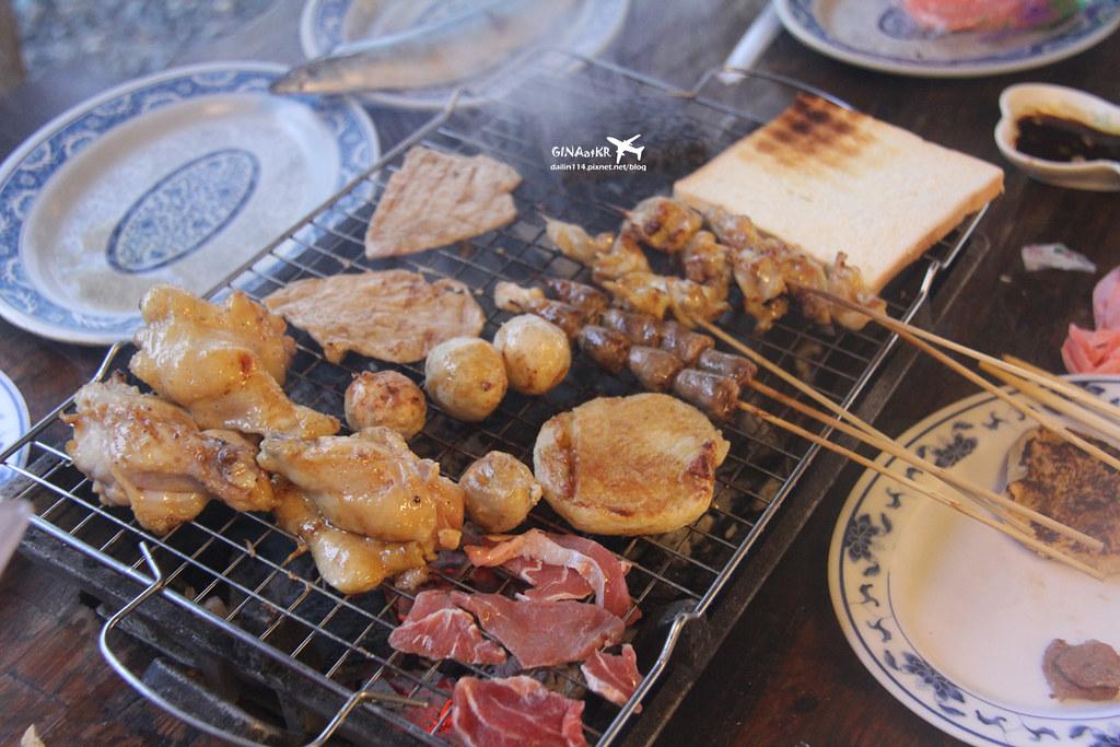 【蘭嶼食記】台灣離島|紅頭部落|海岸旁的烤肉派對-海派露天炭烤 @GINA環球旅行生活|不會韓文也可以去韓國