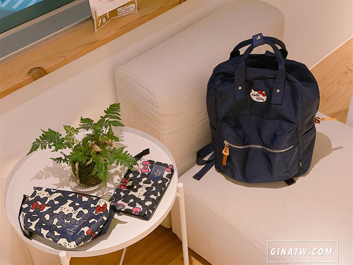 【OUTDOOR正版聯名款包包團購】BTS限定款 BT21後背包、錢包 |Hello Kitty 凱蒂貓後背包、化妝包、手拿包、手機包 @GINA環球旅行生活