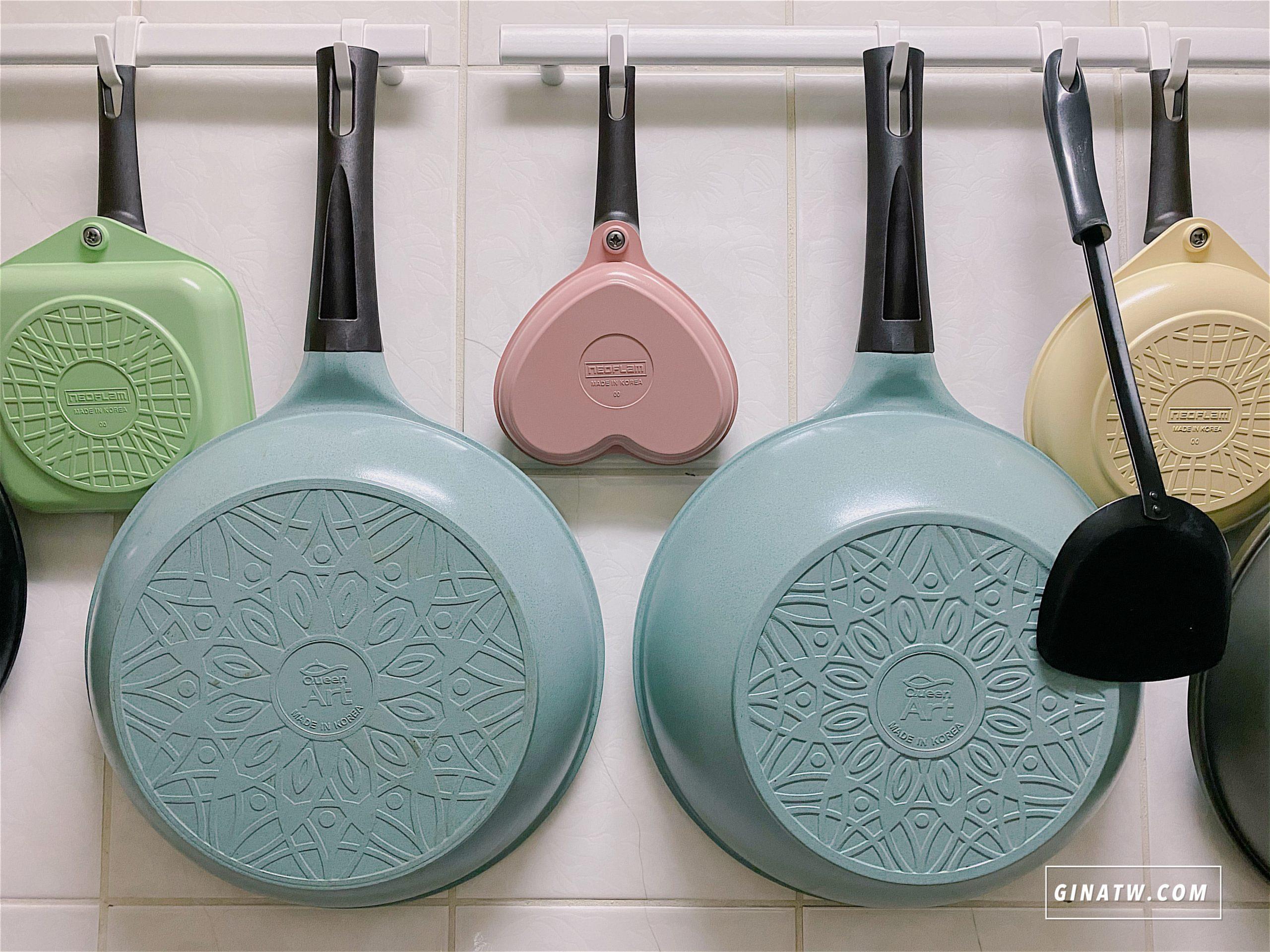 【韓國鍋具Queen Art團購】料理食譜分享|遠紅外線抗菌、輕量耐磨玉石陶瓷鍋|韓國原裝進口、Hi電磁爐也可以用! @GINA環球旅行生活|不會韓文也可以去韓國 🇹🇼