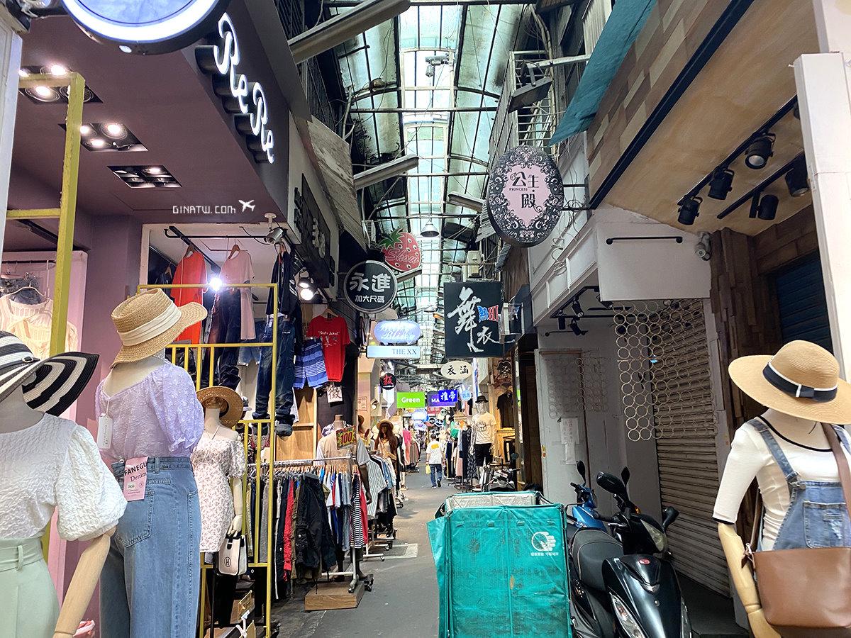 【五分埔商圈購物】台北成衣街|衣服、飾品、配件、包包、帽子批發 @GINA環球旅行生活