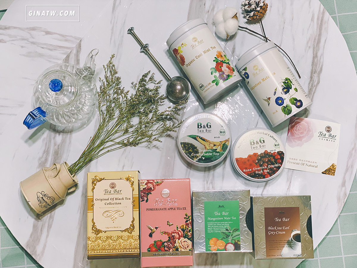【B&G德國農莊】好喝Tea Bar有機天然草本水果茶|2020團購優惠 @GINA環球旅行生活|不會韓文也可以去韓國 🇹🇼