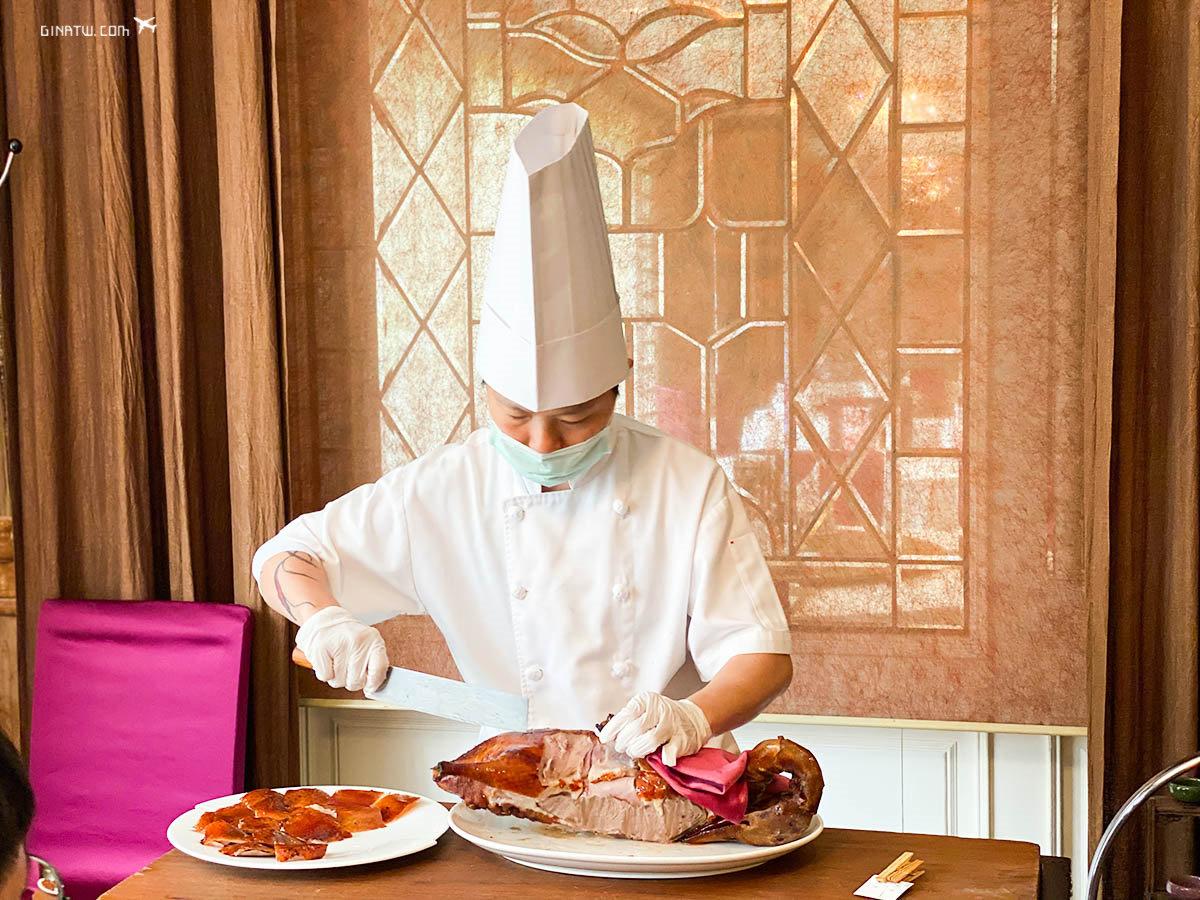 【台北華泰王子大飯店】九華樓必吃-烤鴨、片皮鴨|2020最新菜單、包廂座位、線上訂位|九華樓限量便當 @GINA LIN