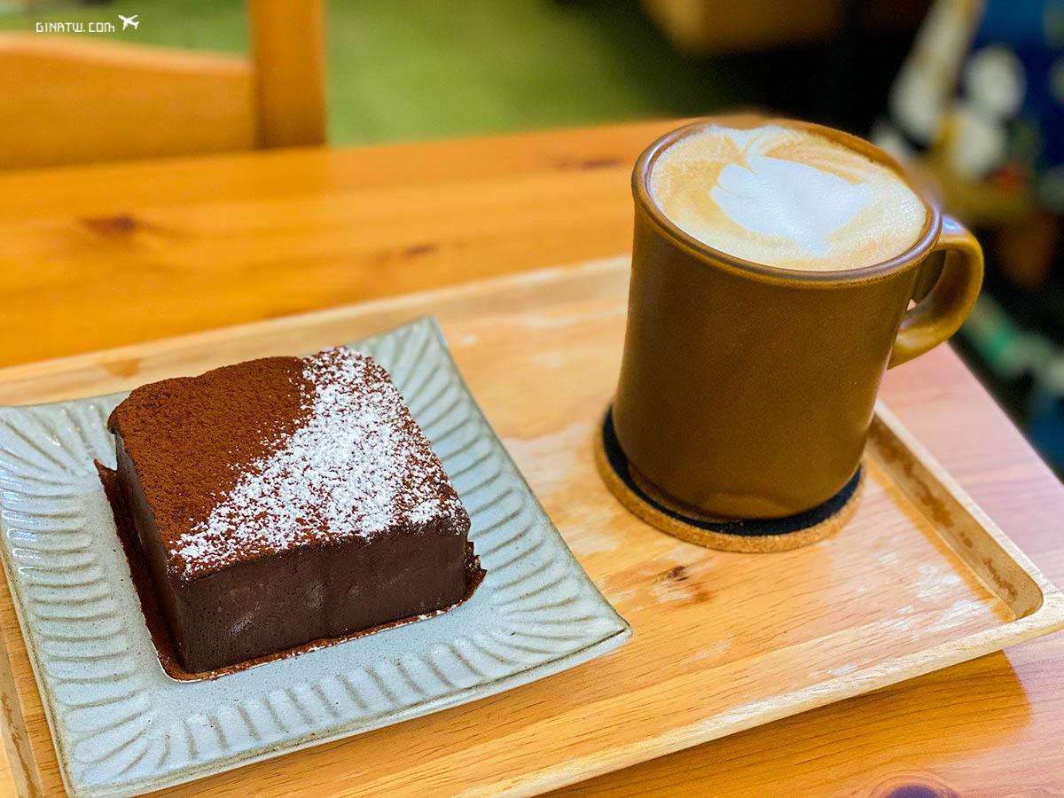 【板橋不限時咖啡廳】窩里返-生巧克力蛋糕|2020菜單、甜點專賣店 @GINA環球旅行生活