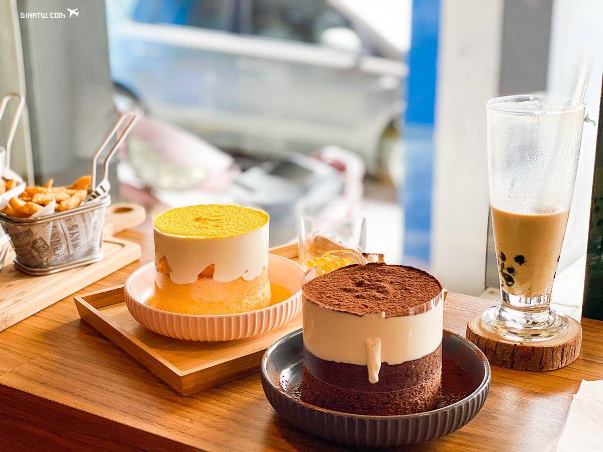 【中壢美食】Dute Coffee & Bar 獨特咖啡、雪崩蛋糕|鍋賣局一個人小火鍋|2020最新菜單|Miopane貝果-板橋火車站環球好吃 @GINA LIN