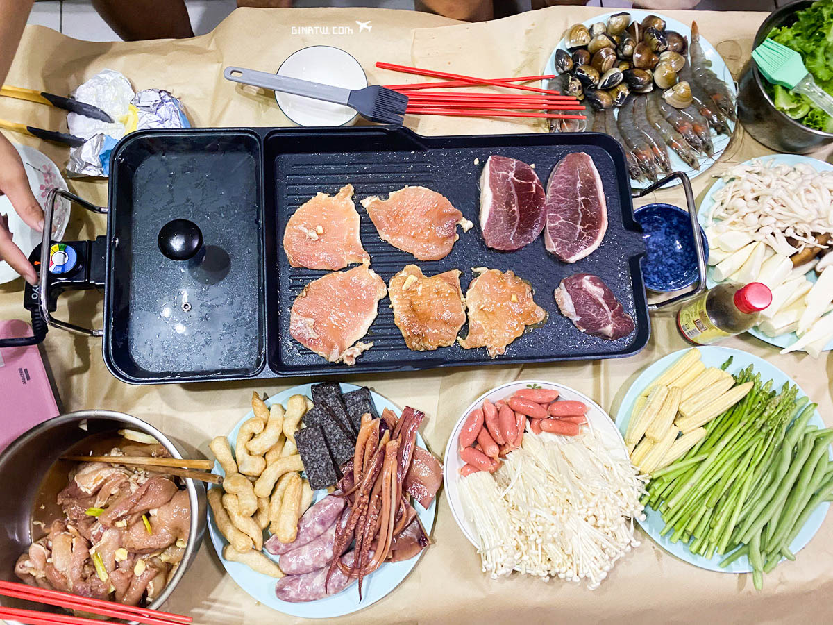 KINYO多功能電烤盤BP-30 @GINA環球旅行生活