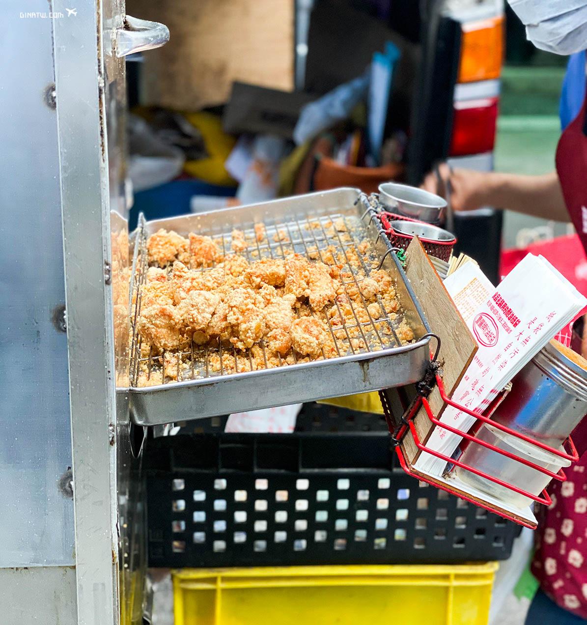 【善導寺站美食】街頭餐車美食|獨特醬汁一志雞排、生煎包、水煎包、大腸麵線粥品(近開南商工、外交部、立法院、國立台北商業大學) @GINA環球旅行生活