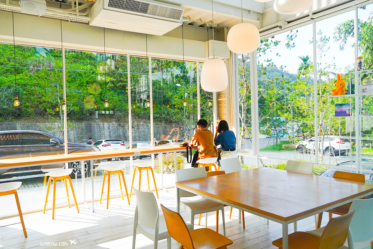 【南投日月潭】蠻荒咖啡|Desolatecoffee|交通停車場 @GINA環球旅行生活|不會韓文也可以去韓國 🇹🇼