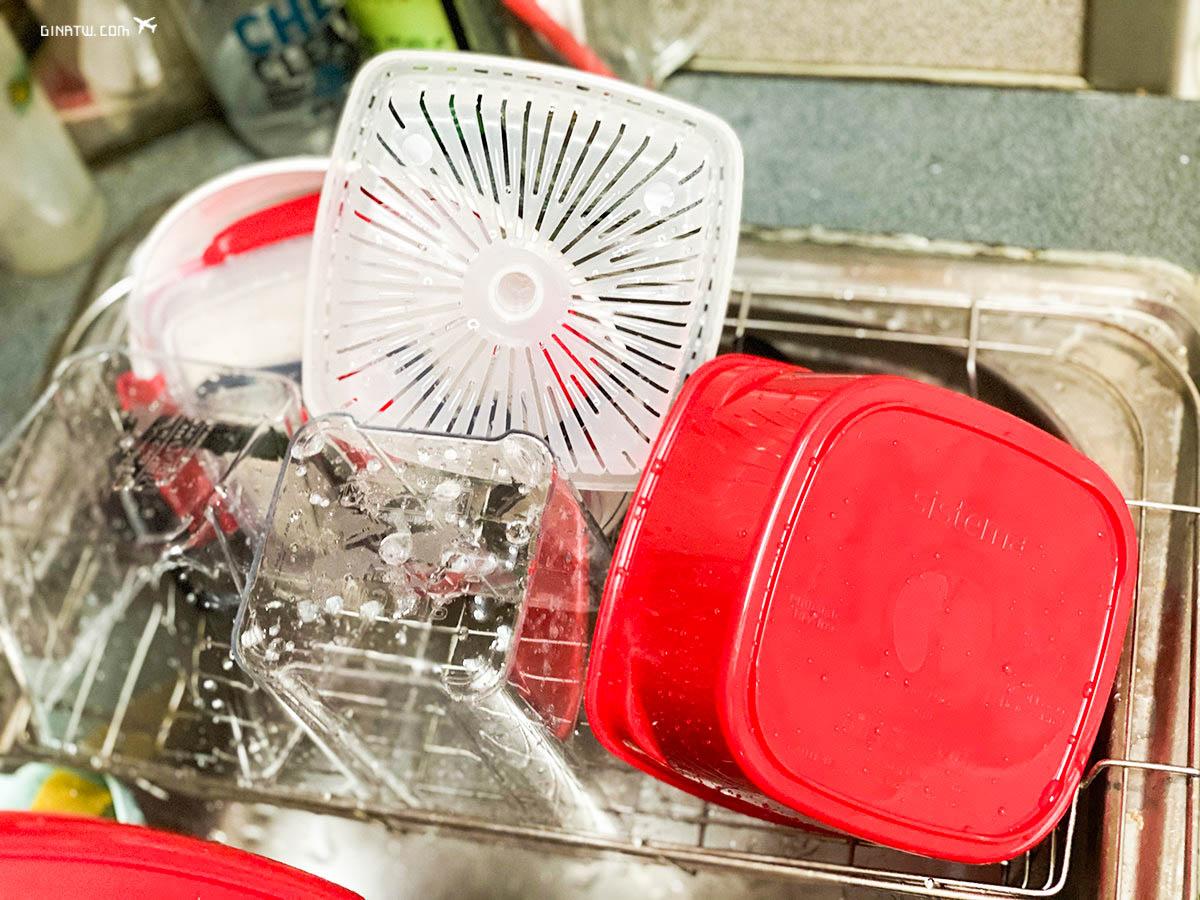 【紐西蘭Sistema】微波保鮮盒|紐西蘭第一品牌儲存容器、餐盒|Tritan Ultra系列 方形密封罐 @GINA環球旅行生活|不會韓文也可以去韓國