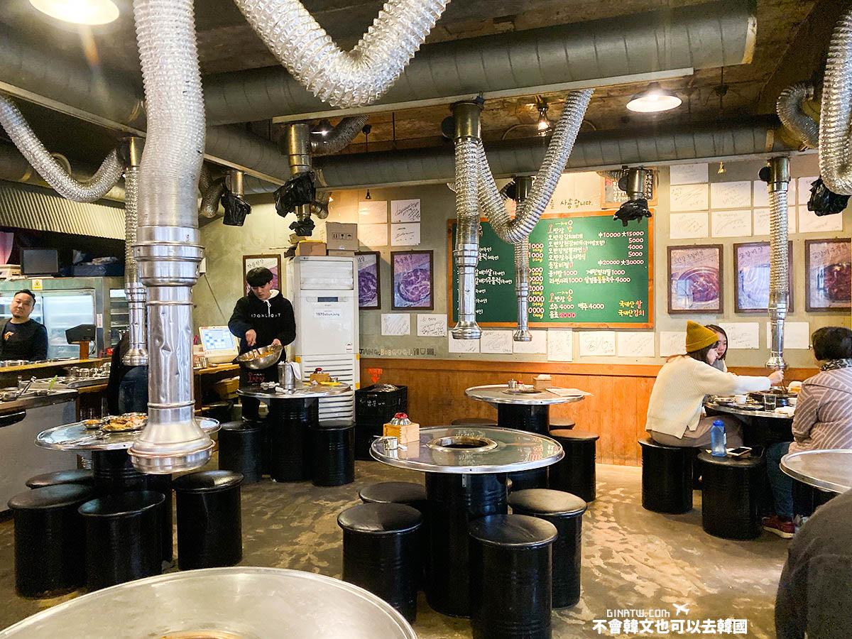 【釜山美食】海雲台必吃烤肉-伍班長烤肉/吳班長烤肉|附中文菜單、地址地圖 @GINA LIN