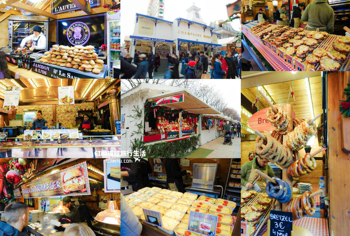 【巴黎聖誕市集】杜樂麗花園聖誕市集(Jardin des Tuileries)近羅浮宮、奧賽博物館、巴黎大皇宮 @GINA環球旅行生活