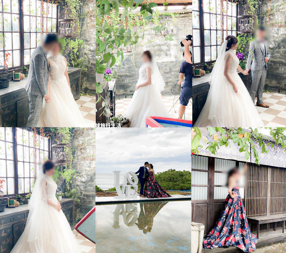 【台灣拍婚紗】台北拍婚紗場地|婚紗攝影基地-淡水莊園(內外景)| 林安泰古厝民俗文物館 @GINA環球旅行生活