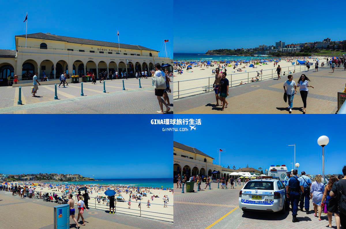 【澳洲雪梨景點】悉尼-夏天的聖誕|邦代海灘(Bondi Beach) @GINA環球旅行生活