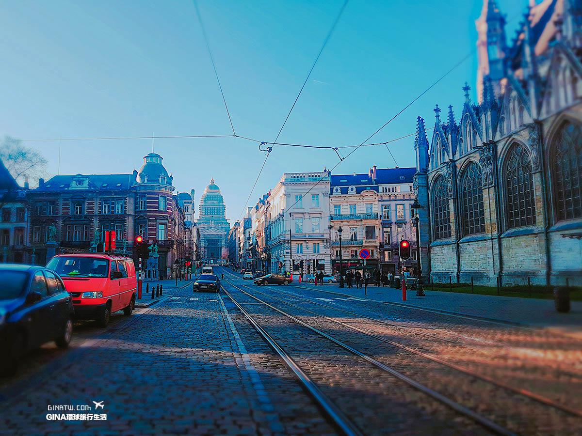 【比利時旅遊景點】布魯塞爾二日遊(上)-聖誕節空城的比利時|家樂福、GALLER巧克力 @GINA環球旅行生活