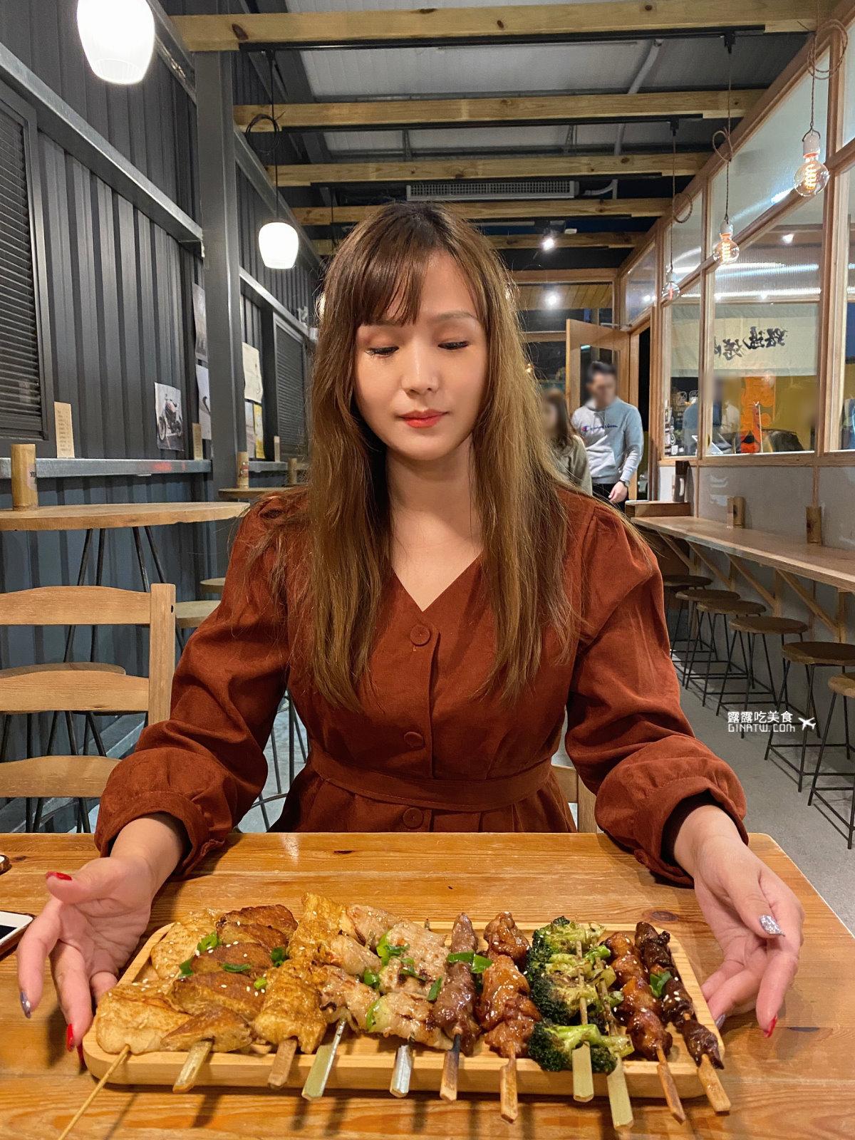 【路邊烤肉-蘭礁店】平價串燒烤肉|2021最新菜單|宜蘭礁溪美食 @GINA環球旅行生活