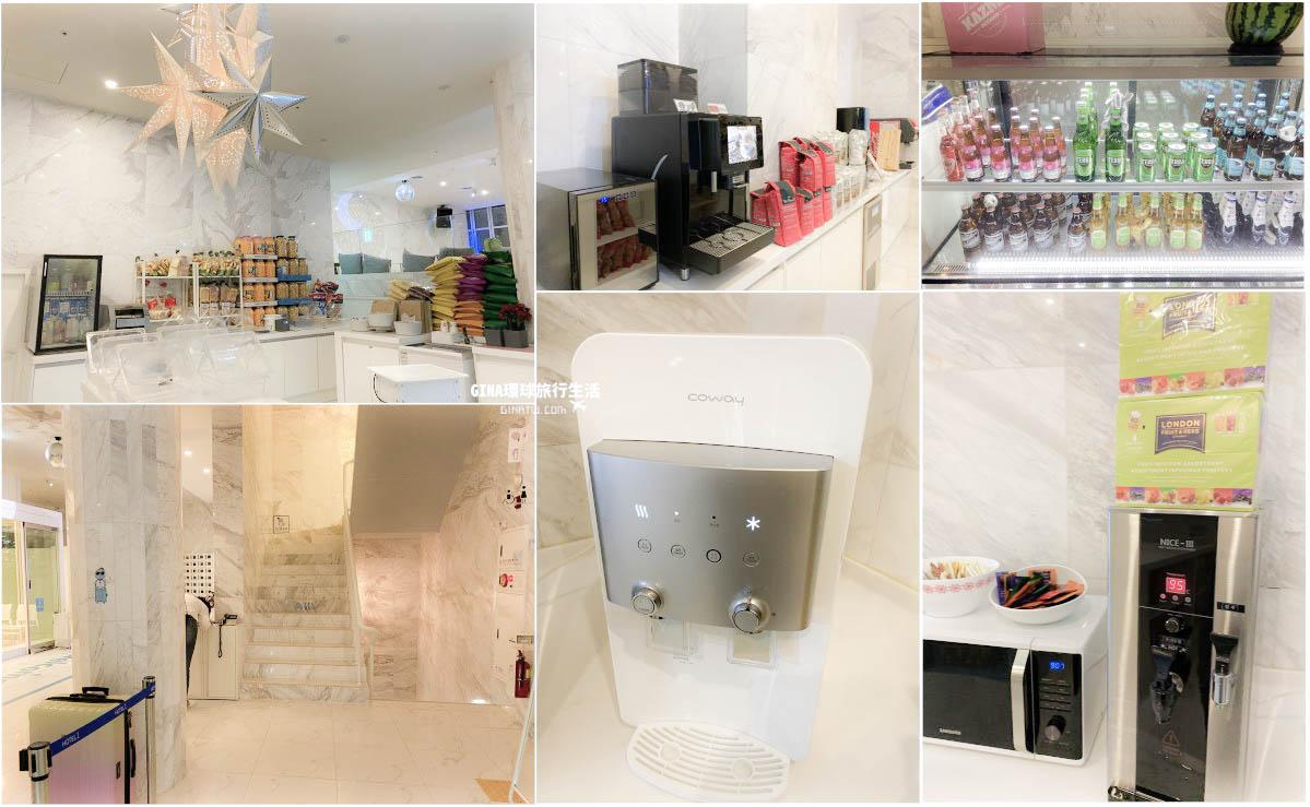 【釜山海景住宿】廣安Hotel1|大理石高級背包客棧|廣安里海水浴場 @GINA環球旅行生活