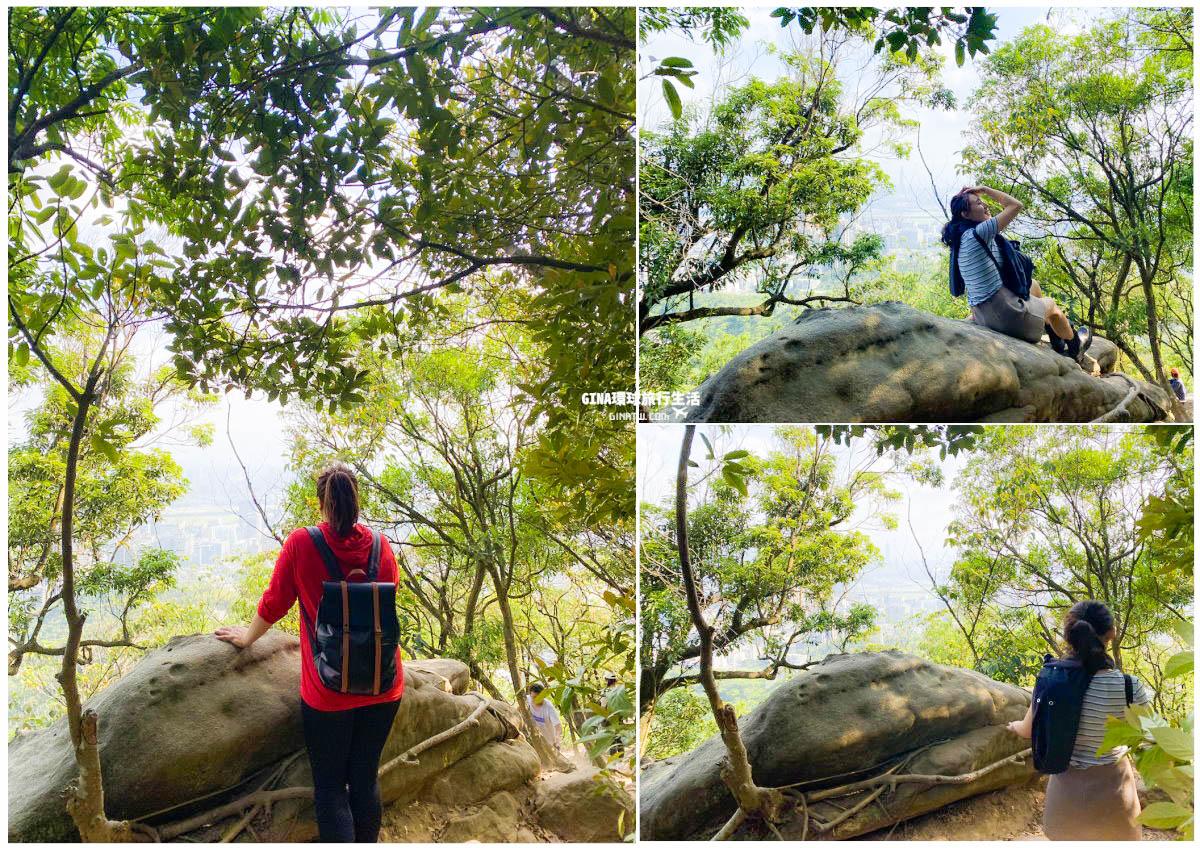【內湖景點】金面山步道、剪刀石山、金面山大岩壁|台北半日登山、難易度、路線 @GINA環球旅行生活