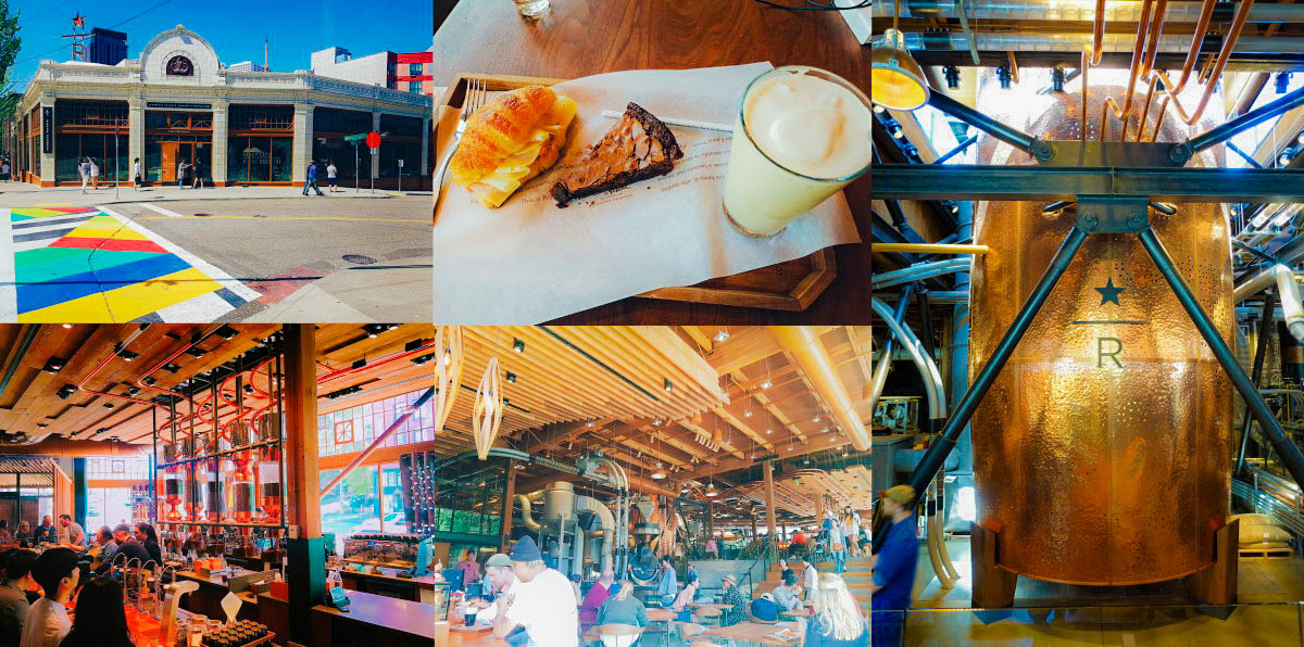 【2021西雅圖景點】星巴克全球第一家典藏咖啡專賣店|Starbucks Reserve Roastery and Tasting Room @GINA環球旅行生活