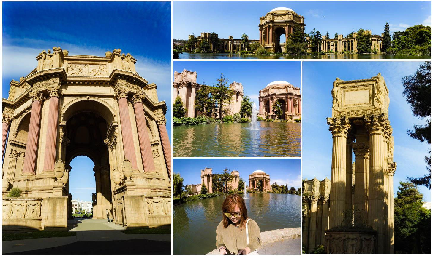 【舊金山必去景點】藝術宮 Palace of Fine Arts|金門大橋 Golden Gate Bridge|美國人拍婚紗聖地 @GINA環球旅行生活