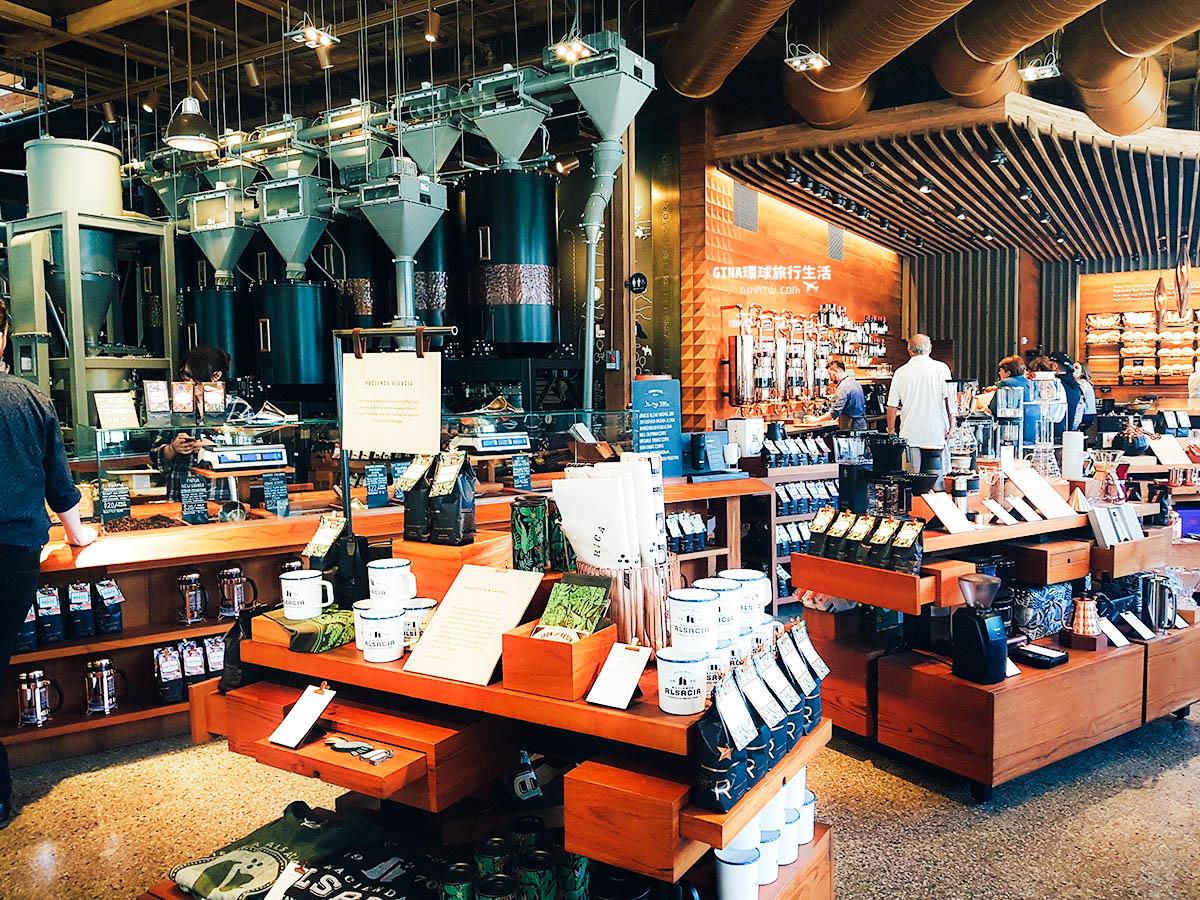 【2021西雅圖景點】星巴克全球第一家典藏咖啡專賣店 Starbucks Reserve Roastery and Tasting Room @GINA環球旅行生活