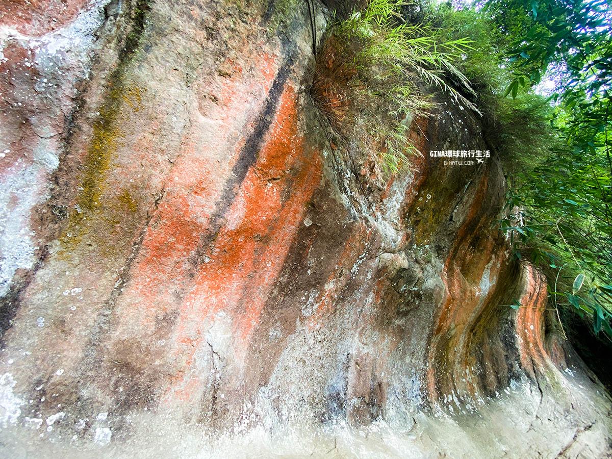 【三峽景點】鳶山登山步道-彩虹岩壁|2021彩壁捷徑登山口-永山宮|小百岳、交通方式解說 @GINA環球旅行生活