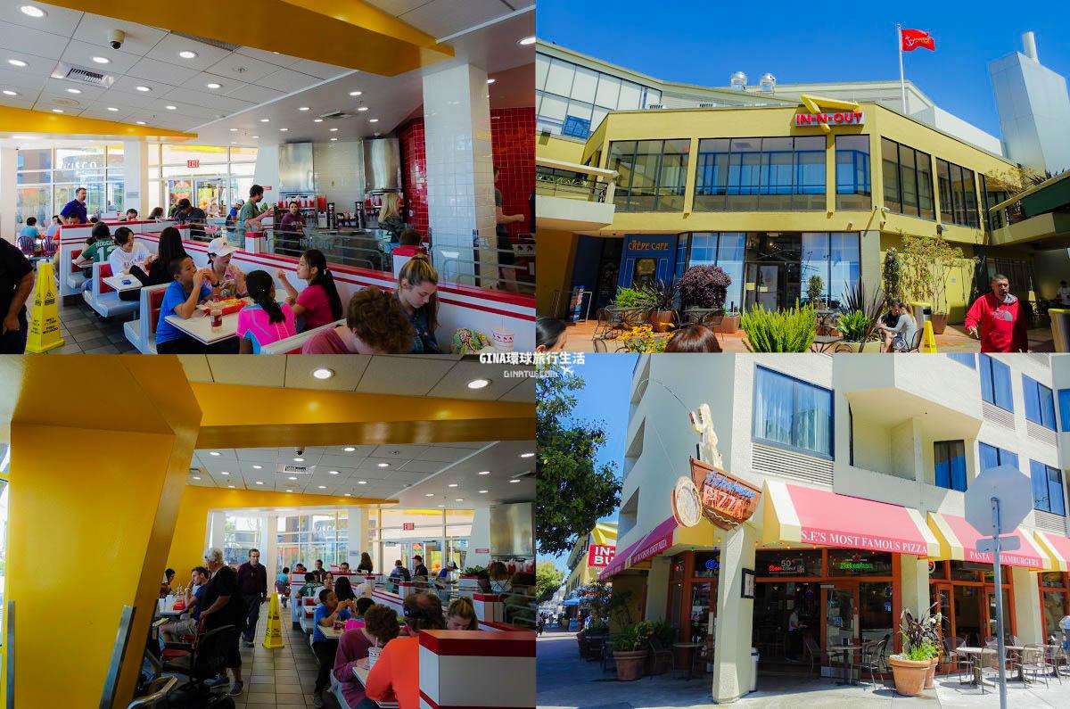 【舊金山美食】In-N-Out Burger美國西岸必吃漢堡!2021最新菜單|舊金山觀光巴士一日遊優惠 @GINA環球旅行生活