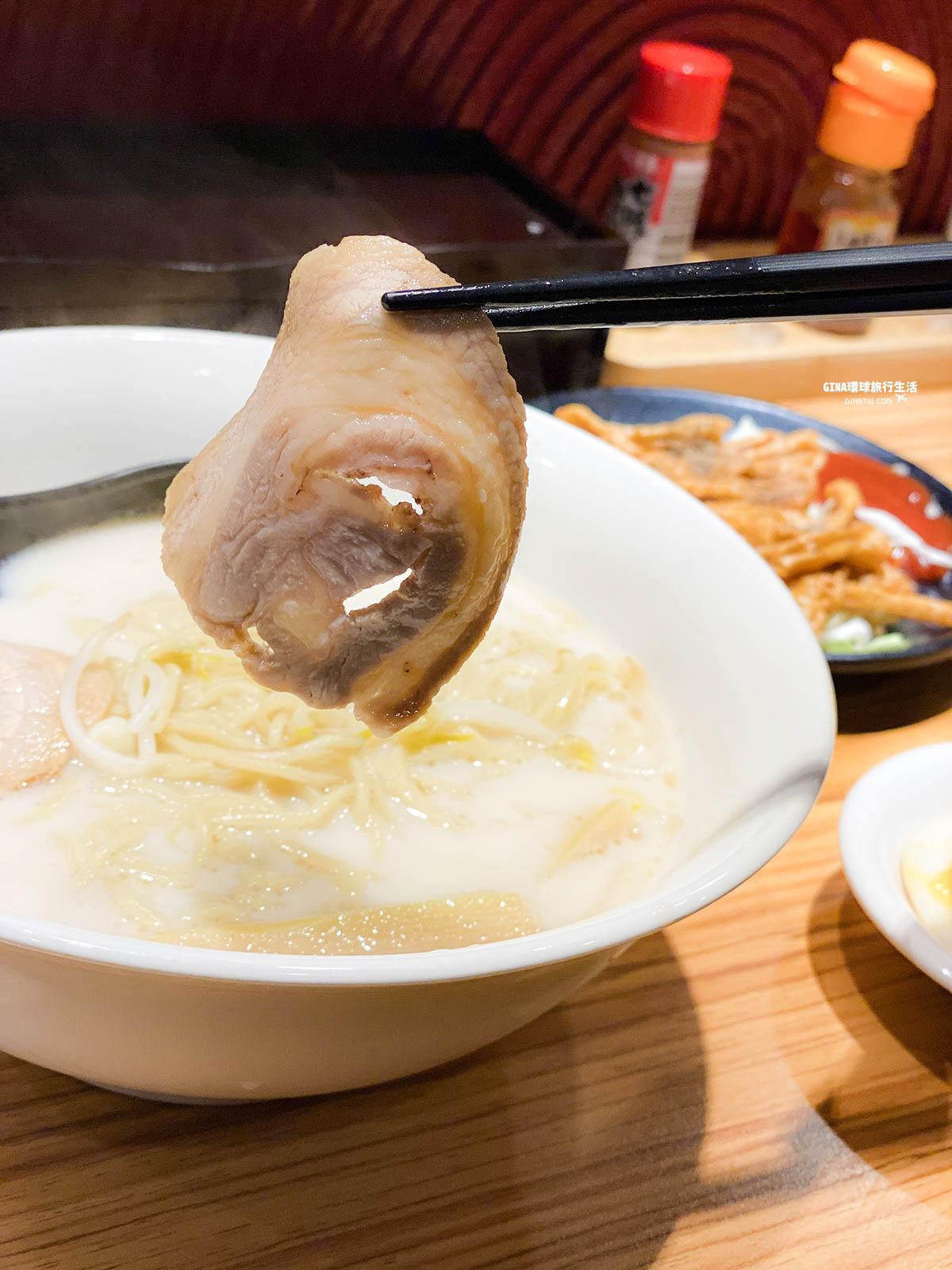 【台南平價美食】日式神武拉麵 59元起!平假日免費加麵不用錢|2021最新菜單 @GINA環球旅行生活