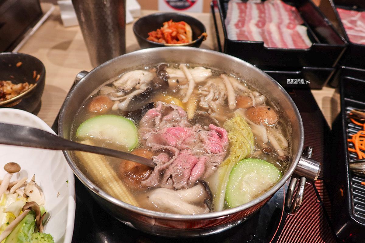 【台北食記】和牛涮日式鍋物放題 老饕級和牛三吃 2021最新菜單 @GINA環球旅行生活